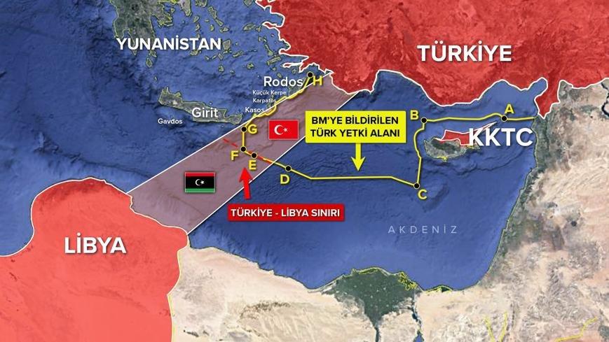 Rum Kesimi, Türkiye' yi Doğu Akdeniz'de durdurmak için 3. ülkelerden yardım arayışında