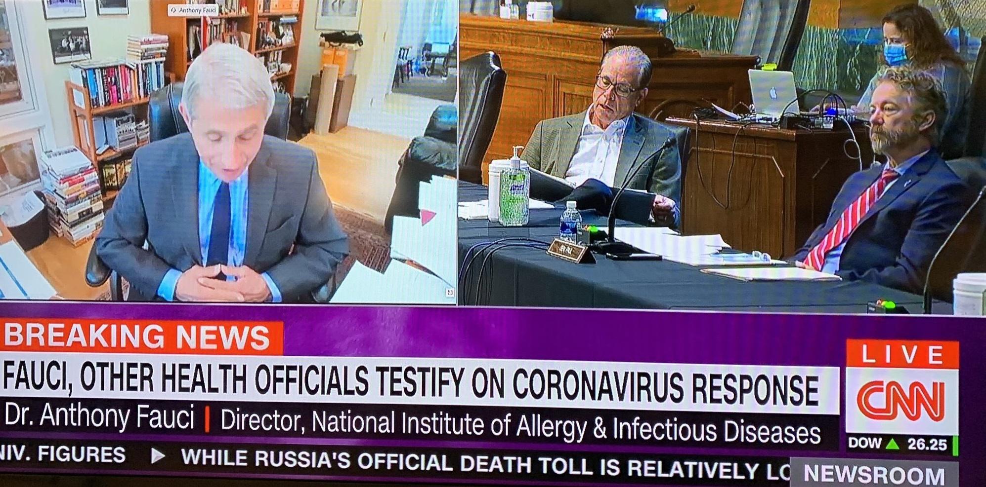 ABD' de bütün tv kanallarına açık pandemi toplantısında koronavirüs tartışıldı