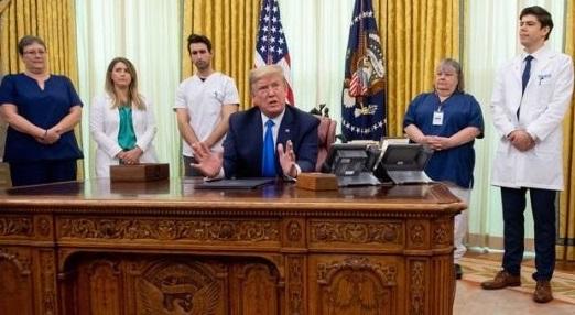 Trump: 'Amerika için koronavirüs 11 Eylül'den daha kötü'