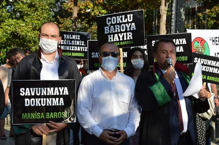 Arslan: 'Avukatların sesi kesilirse yurttaşların nefesi kesilir!'