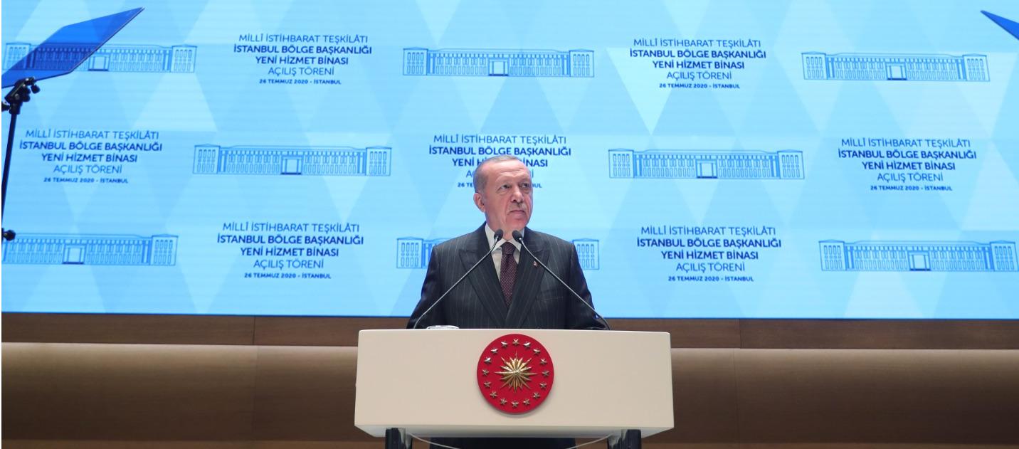 Cumhurbaşkanı: 'Teşkilatımız dünya ölçeğinde çalışmalara imza atıyor.'