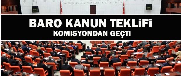 Çoklu baro yasa tasarısı gece 03.20 de komisyonda geçti
