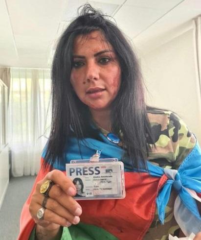 Azerbaycanlı Gazeteci Khatira Sardargizi'ye saldırıya KGK' dan tepki yağdı