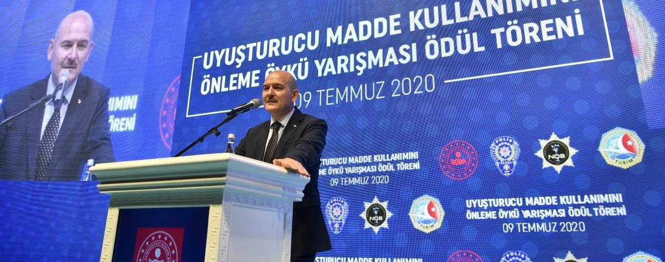 Türkiye' nin uyuşturucuyla mücadelesi dünya adına da üstlendiği önemli bir misyon