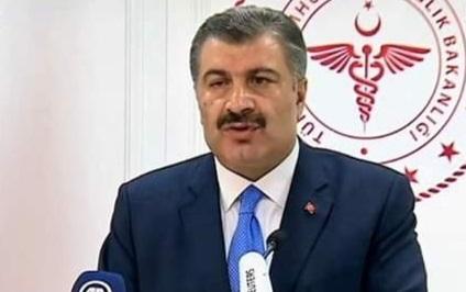Sağlık Bakanı Koca: 'Kovid temaslı zincirinde kişilere ulaşma oranımız son 45 gün içinde yüzde 98,9'dur.'