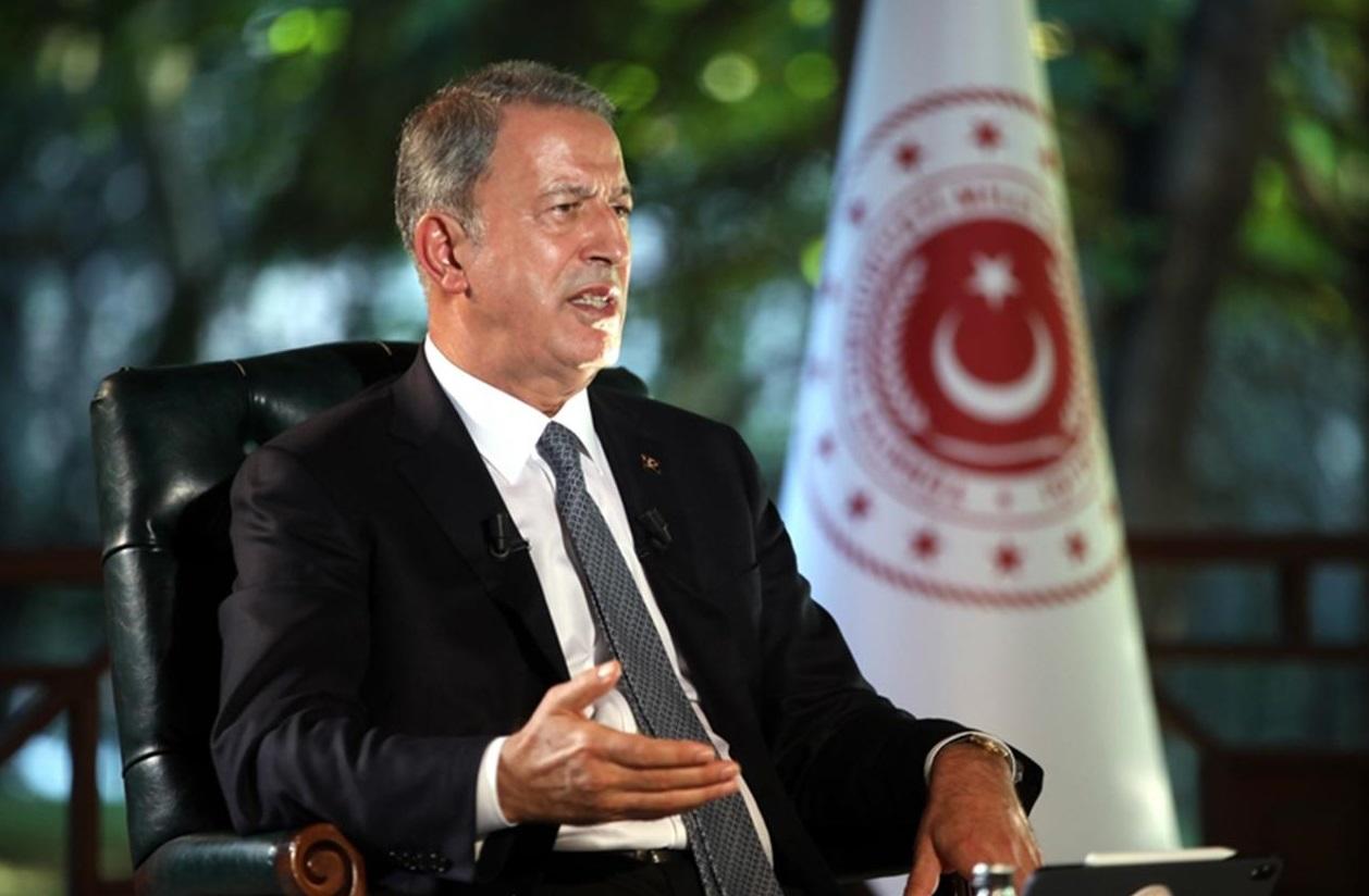 Bakan Akar: 'Libya konusunda Mısır bazı tahriklerde bulunuyor. Çok dikkatli olması lazım!'