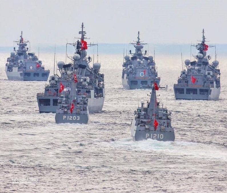 Türkiye' nin Doğu Akdeniz' deki yeni NAVTEX ilanı atışlı eğitimler uyarısı da içeriyor