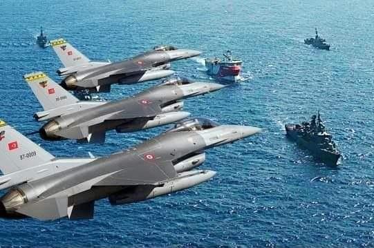 Doğu Akdeniz' de Navtex ilan edilen bölgeye yaklaşan Yunan Uçakları uzaklaştırıldı