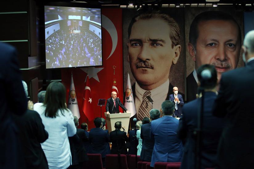 Cumhurbaşkanı Erdoğan: 'Yunanistan'ın Ege ve Akdeniz'de ortaya koyduğu tavır art niyetlidir.'
