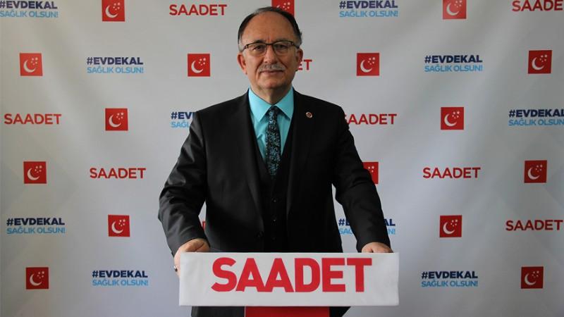 Saadet Partili Şerafettin Kılıç: 'Türkiye'nin kanayan yarası olan işsizlik de giderek derinleşiyor!'