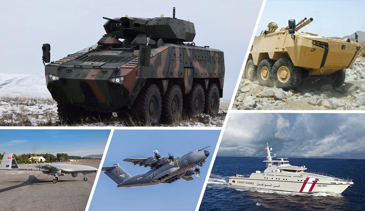 Dünyanın önemli savunma şirketleri listesinde Türk firmaları da yer aldı