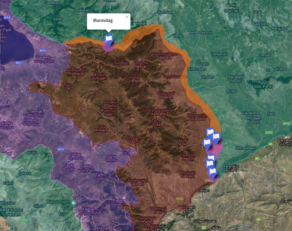 Azerbaycan, İşgalci Ermenistan' ın Karabağ mevzilerini aşıp ilerliyor!