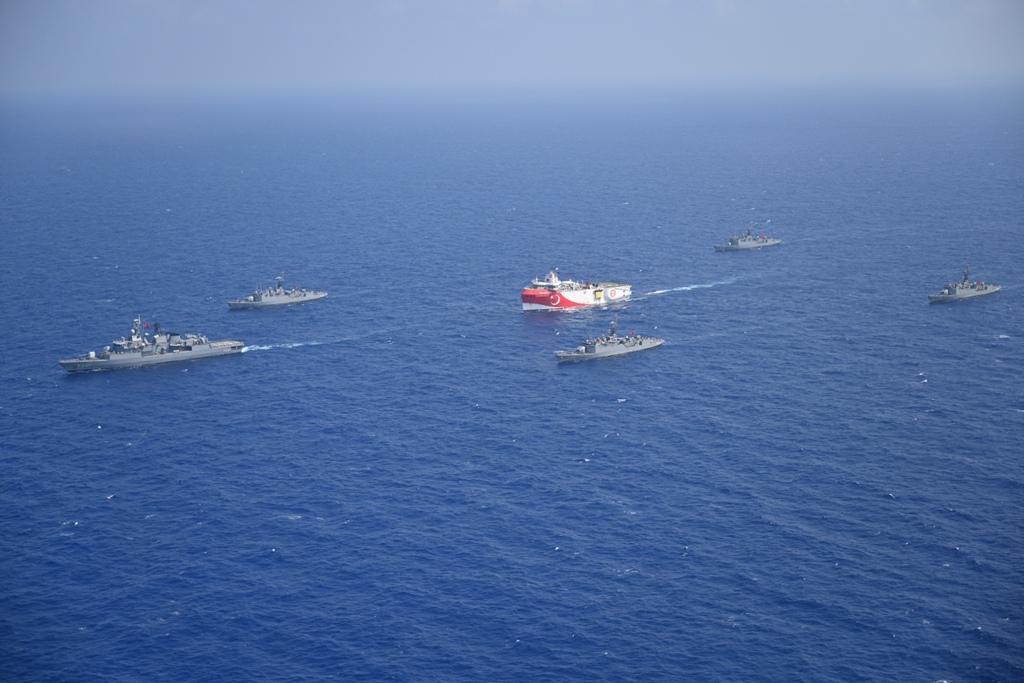 Türkiye Doğu Akdeniz' de atış eğitimleri için 2 ayrı NAVTEX ilan etti
