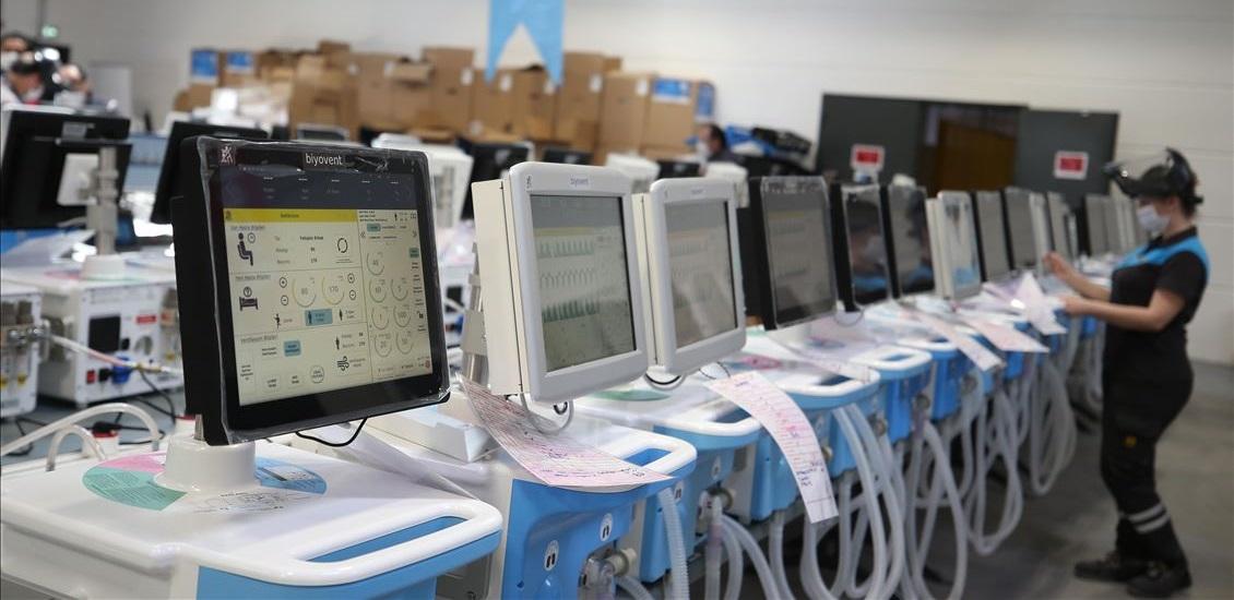 Türkiye, bugüne kadar 9.350 adet solunum cihazı üretti