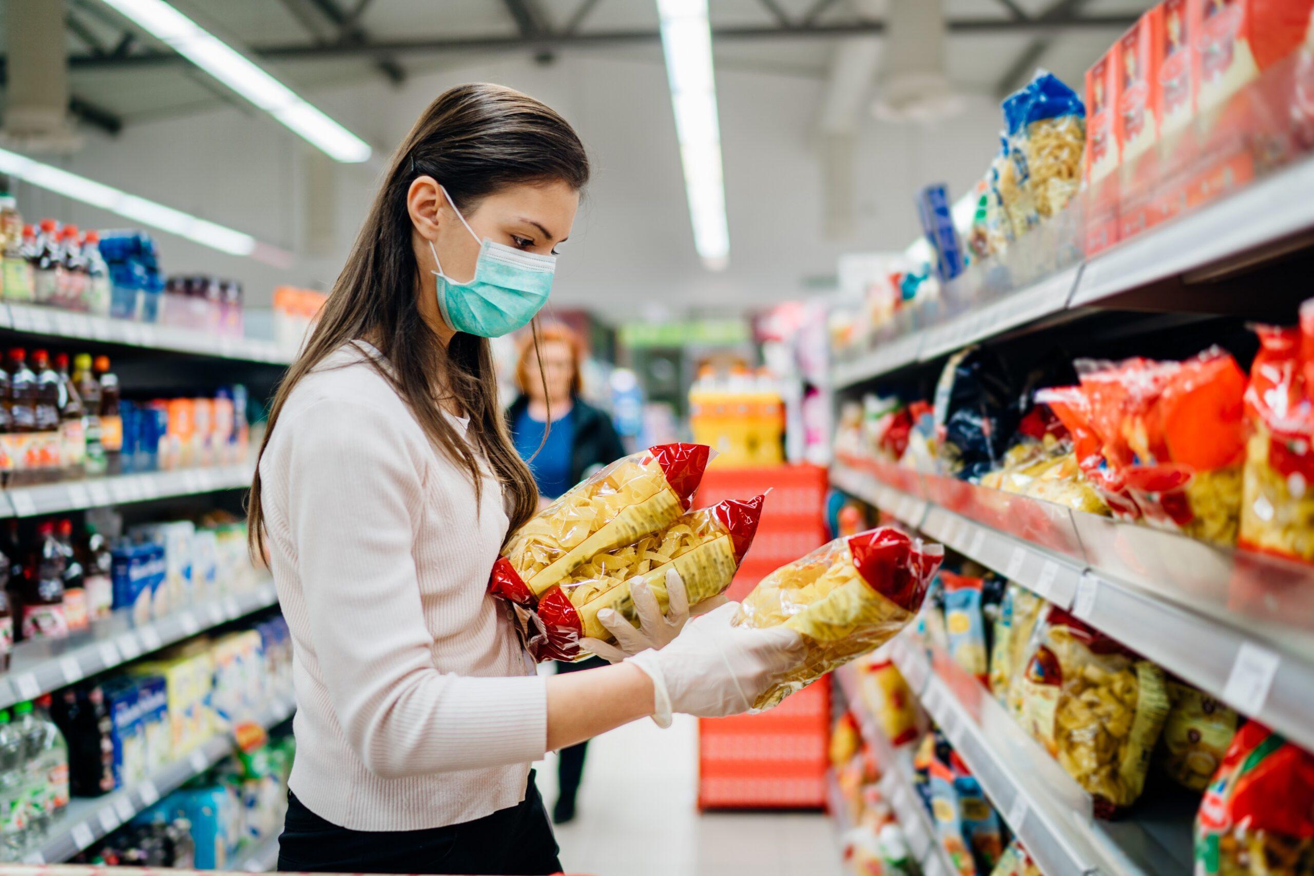 Pandemide gıda sektöründe ambalajlı ürünler büyük önem kazandı