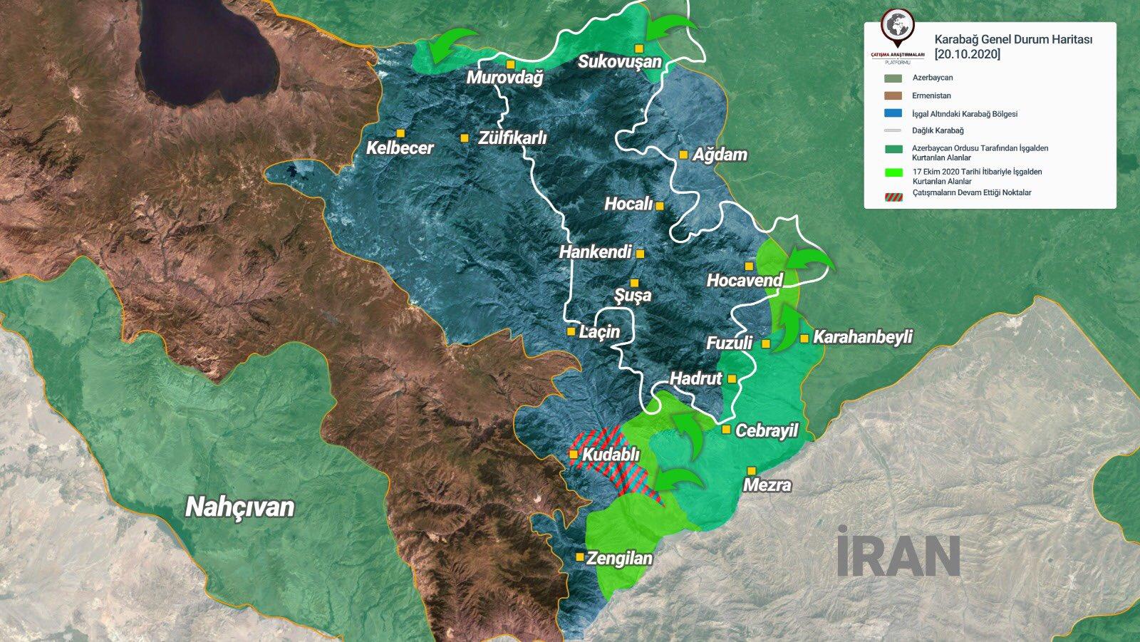 Güney Kafkasya'ya barış ve istikrar ancak Karabağ işgalden kurtulunca gelecektir