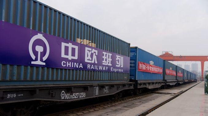 Çin-Avrupa Demiryolu Konteyner Taşımacılığı hızla artıyor