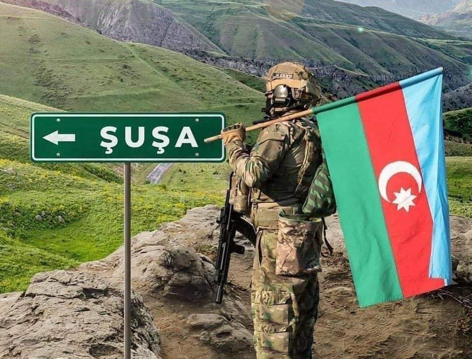 Azerbaycan Ordusu, kritik öneme sahip Şuşa kentini işgalden kurtardı