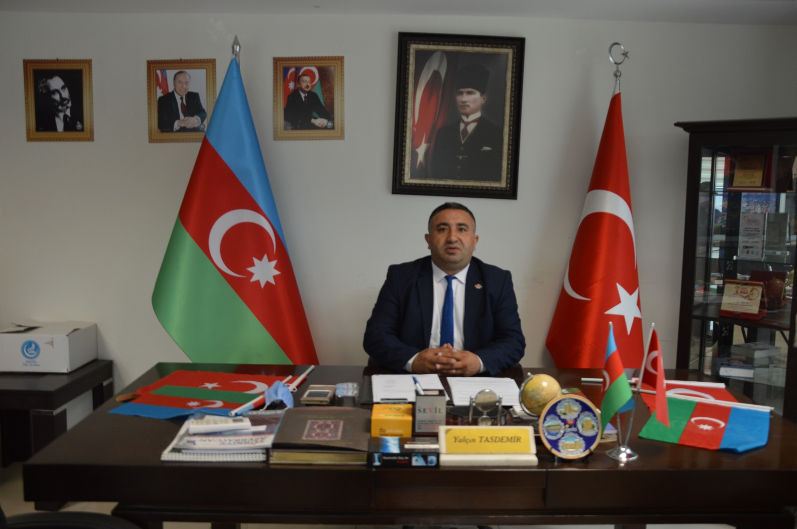 Manisa Azerbaycan Kültür ve Dayanışma Derneği'nden anlamlı ziyaret