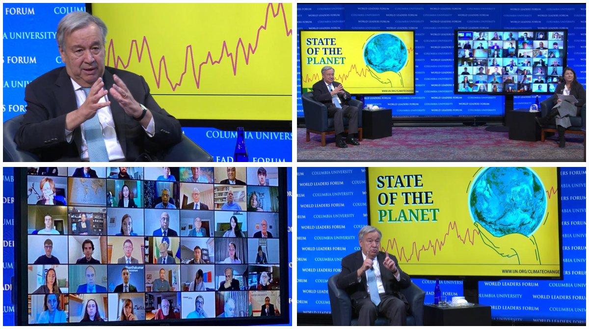 Guterres: 'Hava ve su kirliliğinin neden olduğu ölümler pandemiden 6 kat daha fazla'