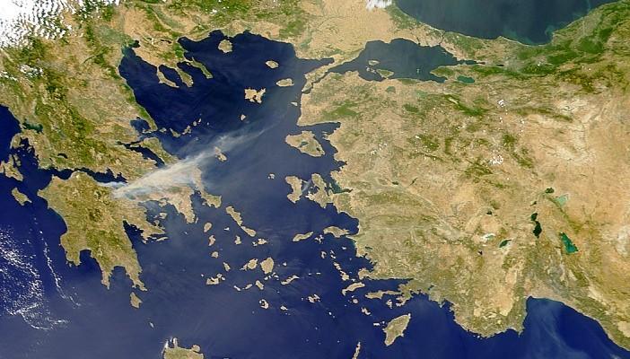 Ege' de Yunanistan'a ait adaların gayri askeri statüsünün ihlaline devam ediliyor!