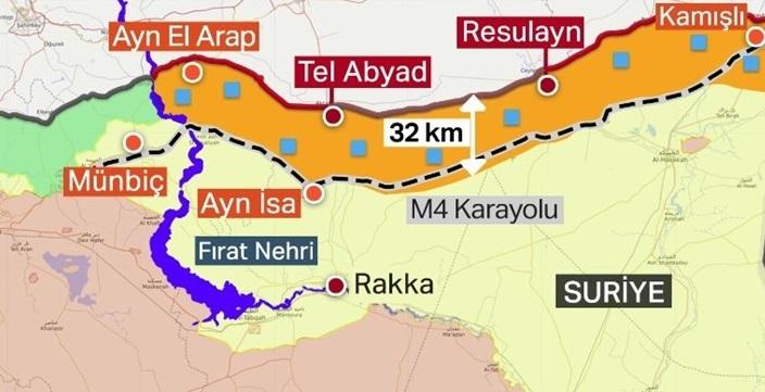 Suriye'de terör örgütü PKK/PYD'nin Ayn İsa'dan çıkarılması için hazırlıklar sürüyor