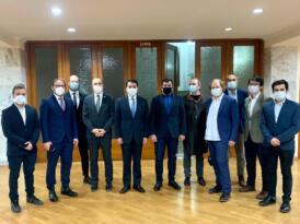 Haciyev: 'Azerbaycan davasına her daim güçlü destek veren KGK'ya teşekkür ediyoruz'