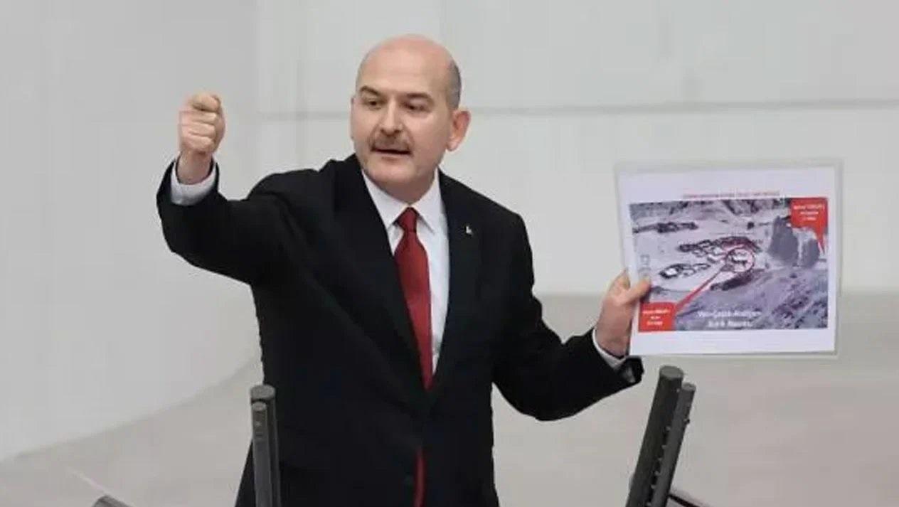 """Bakan Soylu: """"Teröriste terörist diyoruz, destekçisine de terörist diyoruz!'"""