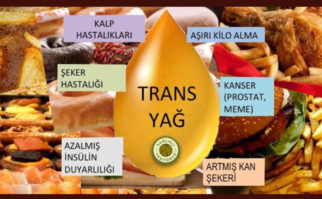 Tarım Bakanlığı, etiketlerden 'trans yağ' ibaresini çıkarıyor