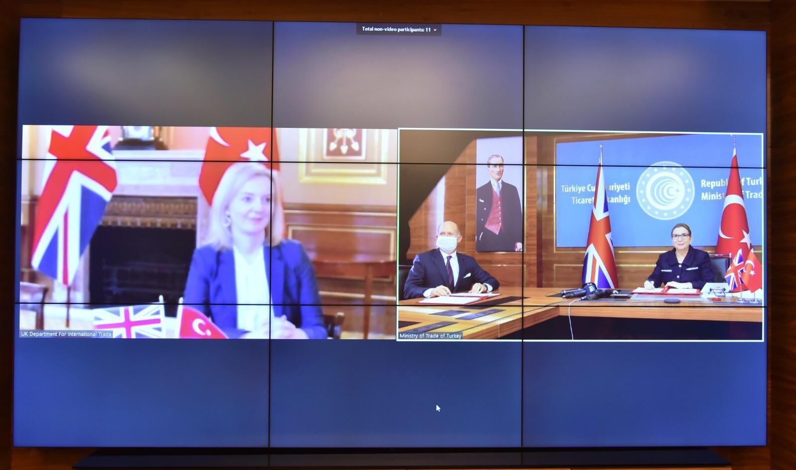 İngiltere, AB'den ayrıldıktan sonra ilk serbest ticaret anlaşmasını Türkiye ile imzaladı