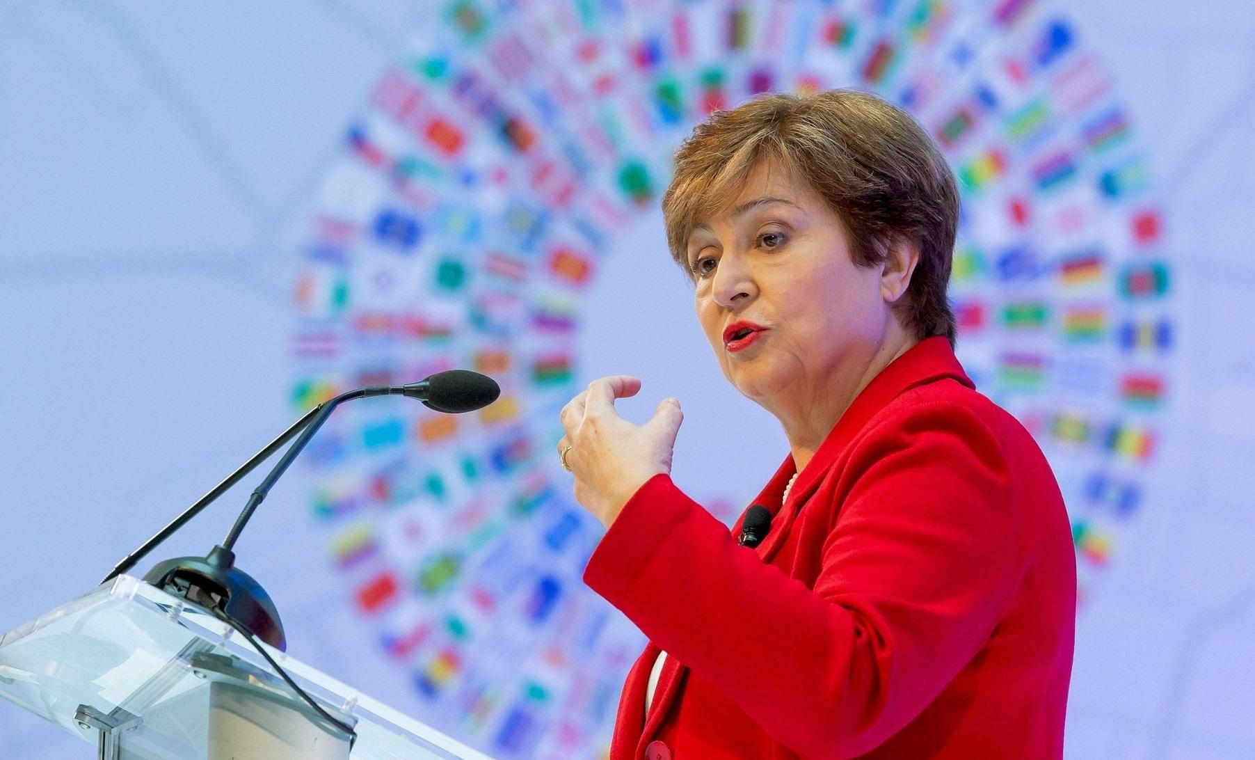 IMF Başkanı Georgieva: 'Kovid-19 salgını eşitsizlikleri artırabilir!'