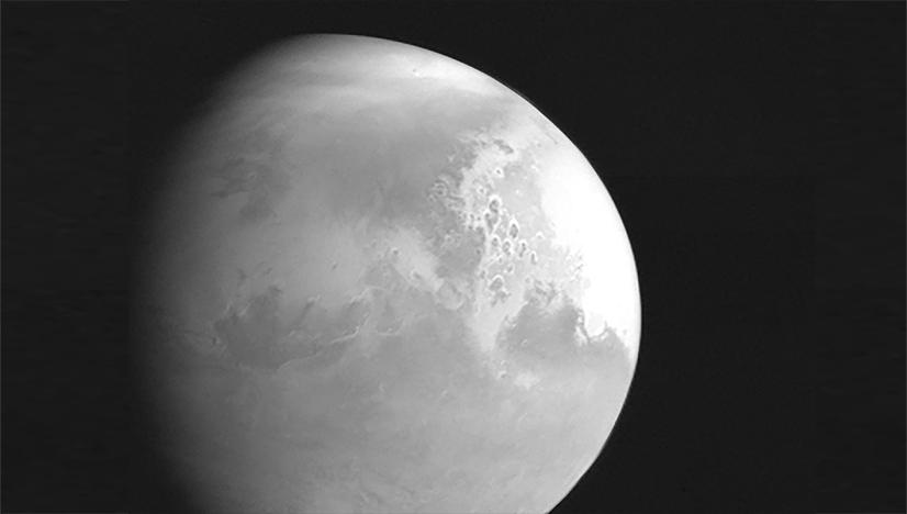 Tienvın -'göklerde hakikati arama- uydusundan çekilen MARS fotoğrafı!..