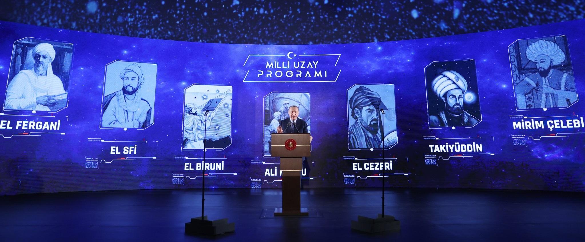 Cumhurbaşkanı Erdoğan, Milli Uzay Programı'nın Ana Hedeflerini Açıkladı