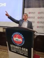 Diyanet-Sen Manisa Şube başkanı Ahmet Özdemir: 'Darbecilerin Karşısındayız!'