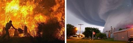 Küresel doğal afetlerin sigortalı hasarı artıyor