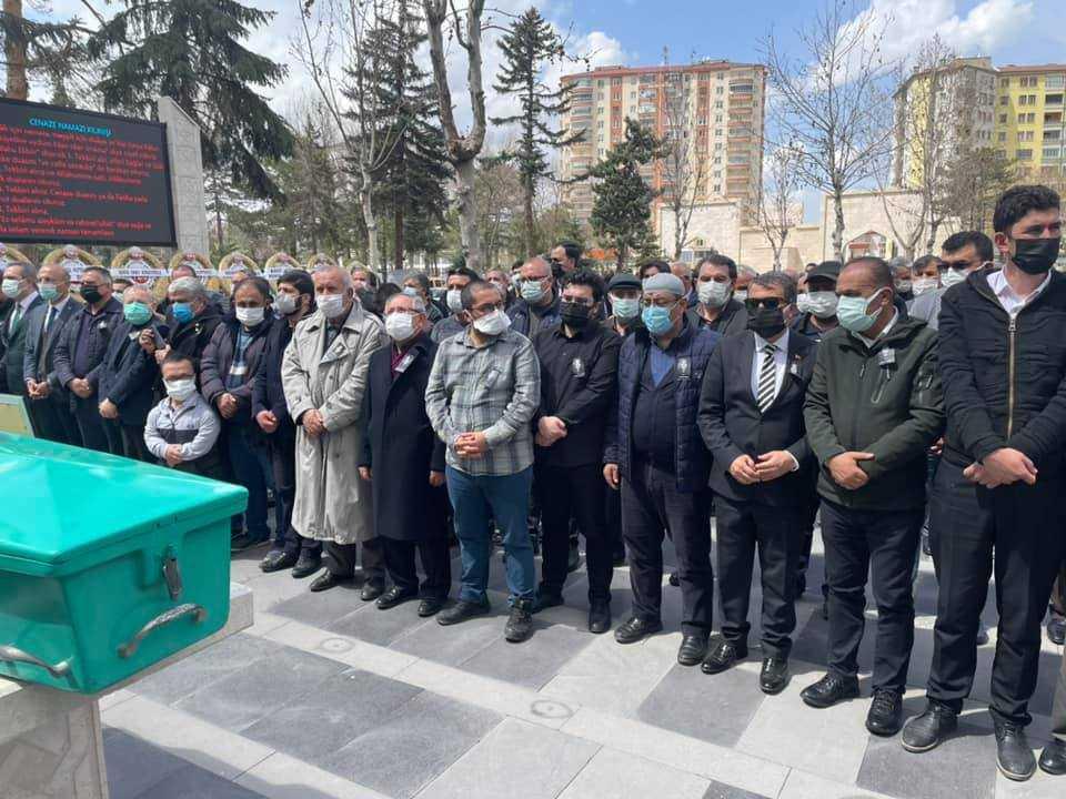 Türk Basınının bir çınarı daha ebediyete uğurlandı