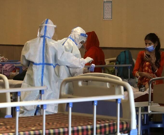 Hindistan' da bazı özel hastane ve Oteller de COVID tedavisine ayrıldı