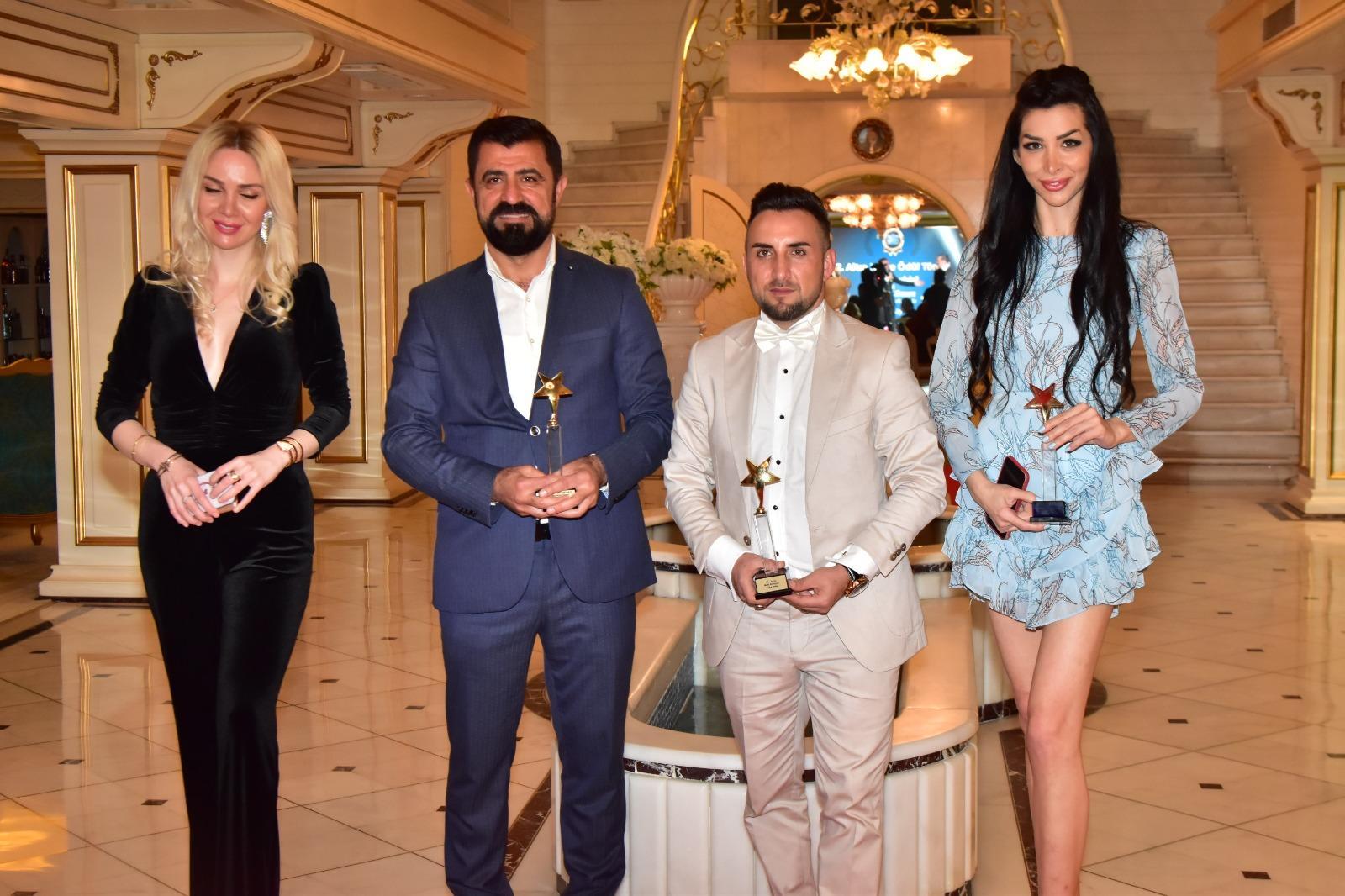 2.Altın Kalite Ödül Töreninde Mardinli iş insanı Lokman Aydemir ödül aldı…