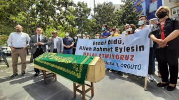 CHP'den Türkiye'de bir ilk: Tabutlu Eylem