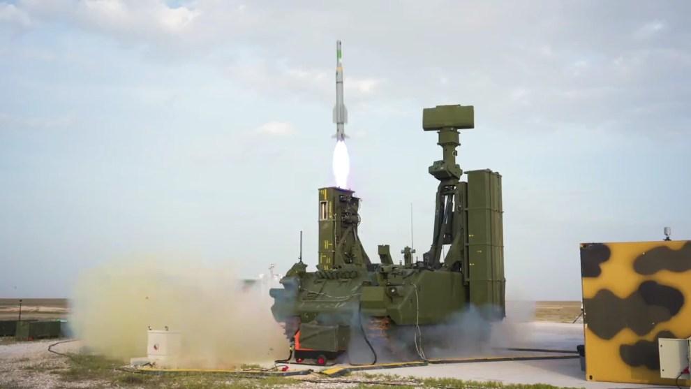 HİSAR-A Hava Savunma Füze Sistemi, hedef uçağı başarıyla vurdu
