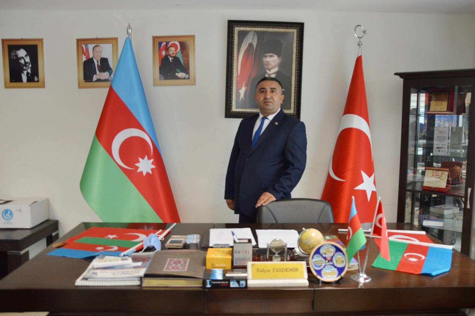 Başkan Taşdemir Azerbaycan Cumhuriyetinin 103. Yılını kutladı
