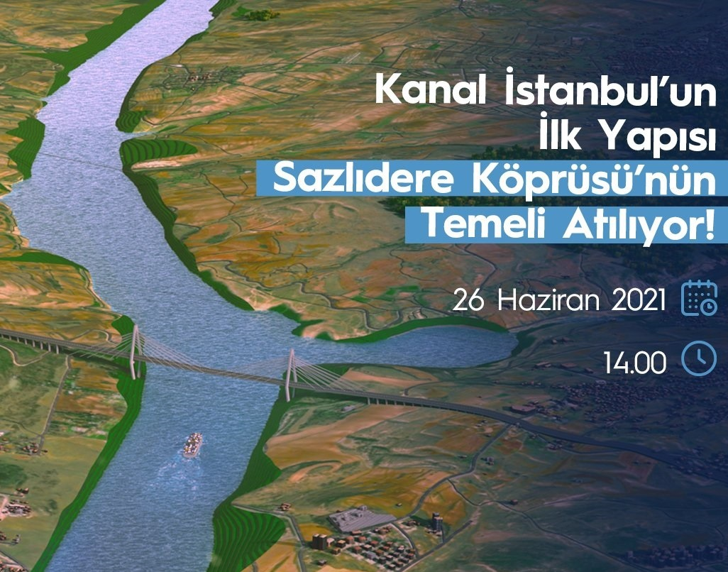 'Kanal İstanbul' Projesinin temeli atıldı