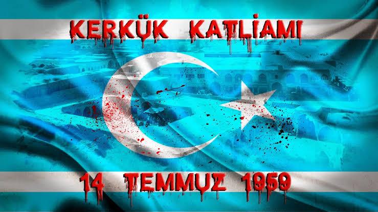 """Türkmen Bakan Aydın Maruf'tan """"14 Temmuz Kerkük katliamı"""" mesajı Açıklaması"""
