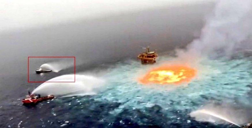 Petrol için okyanusu bile yaktılar!..