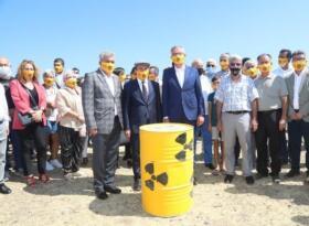 İzmirlilerden hükümete çağrı: 'Nükleer atıkları temizleyin!'