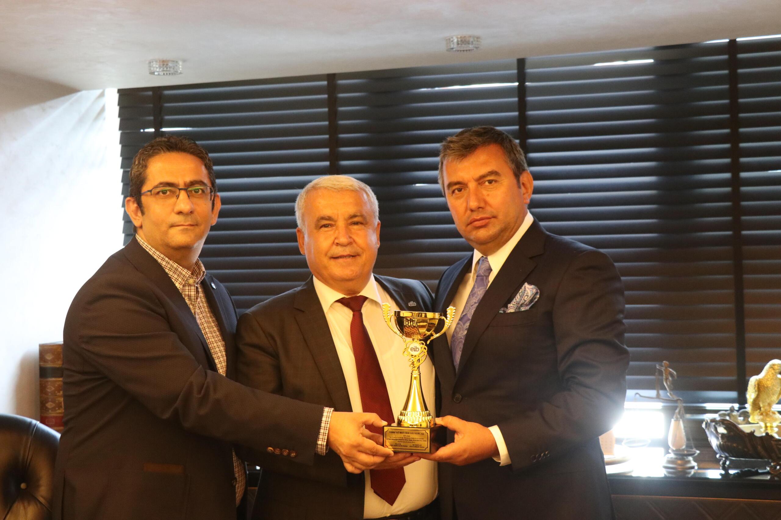 Zeytin ve zeytinyağı ihracatının liderleri ödüllerine kavuştu