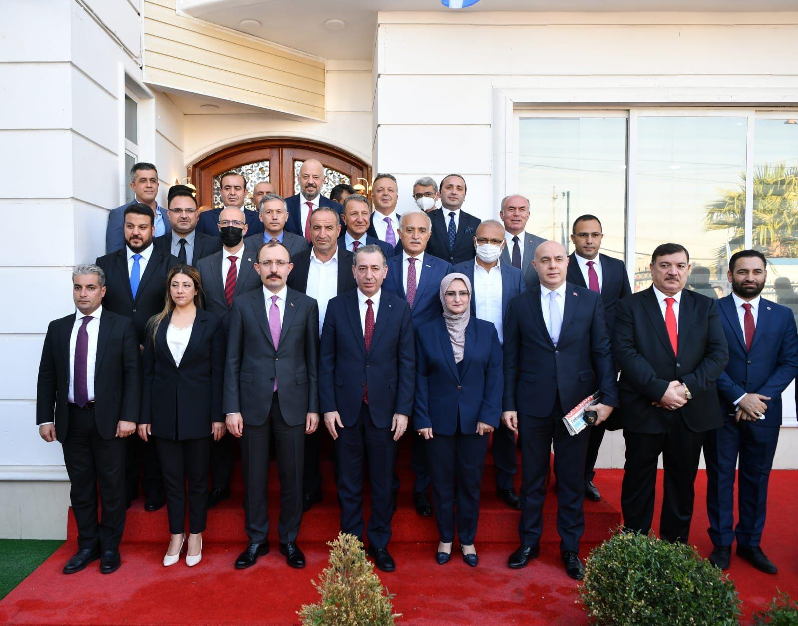"""Aydin Maruf; """"Bakan Muş'u Erbil'de görmek mutluluk verdi"""""""