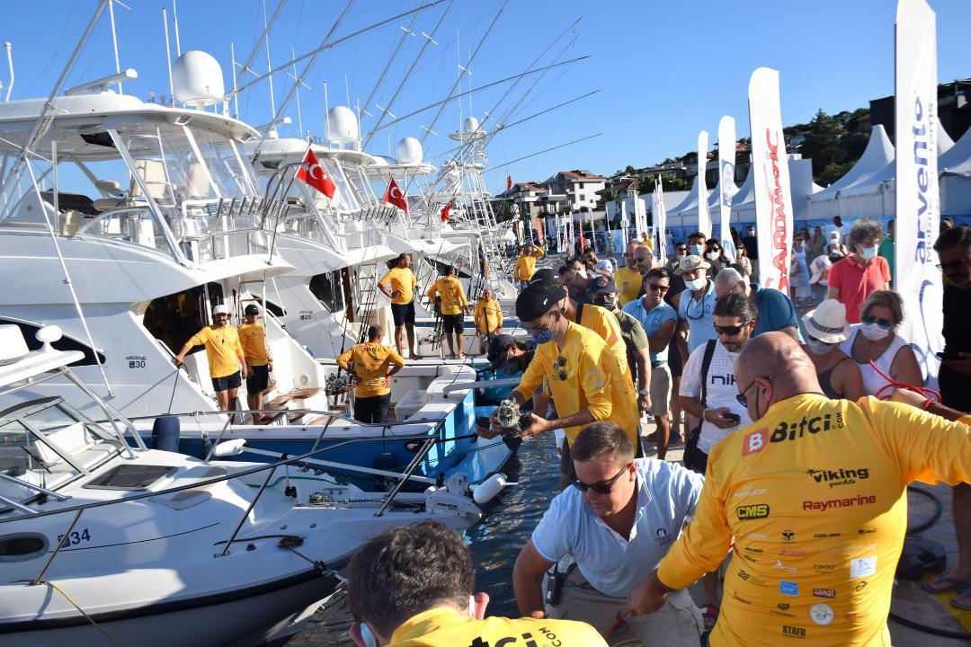 Tuna Masters Teos'un şampiyonları Veloce ve Orki Team
