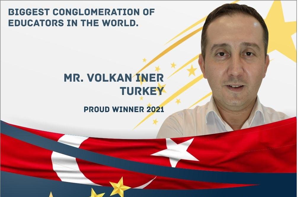 Küresel Öğretmen Ödülü'nde ülkemizi gururlandıran başarı